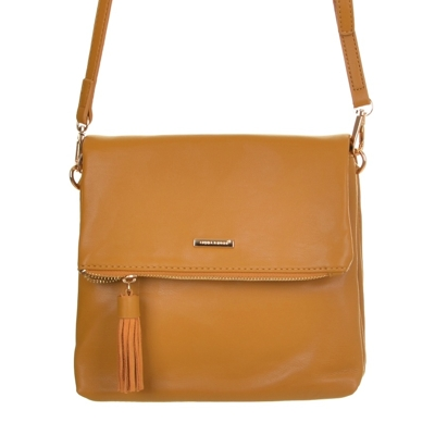 Crossbody model David Jones - W1008 horčicová